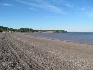 Les côtes du New Brunswick