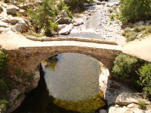 Le pont génois d'Albertacce