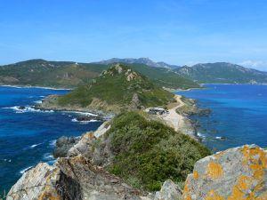 La Corse : la région d'Ajaccio