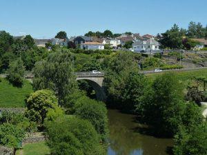 La ville de Parthenay dans les Deux-Sèvres