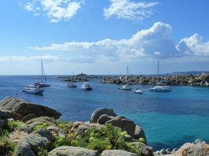 L'île principale, ouverte aux touristes