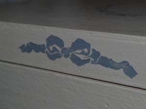 Bleu dentelle....