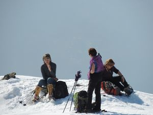 Sortie au refuge du Lac de la Grande Léchère avec ADAPAR 10/11 mars 2015