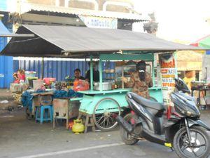 Warung indonésien local
