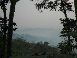 Lever de soleil sur Borobudur depuis Punthuk Setumbu