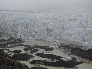 Islande: abords sud du Vatnajökull