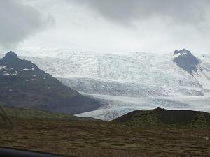 Vatnajökull à proximité de Jökulsarlon, Islande, 12/07/16