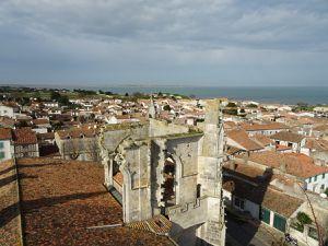 Dans le clocher de Saint Martin de Ré (dans son jus...!!!)