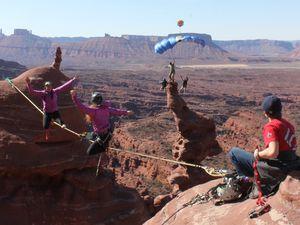 Photos du web illustrant les sports pratiqués à Moab