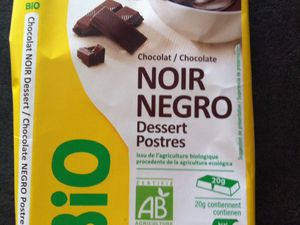 Chocolat bio mais pas b&quot&#x3B;i&quot&#x3B;on
