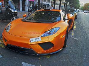 Range Rover en or massif, Veyron unique au monde, et bien d'autres étaient à Paris en Août! - Album photos