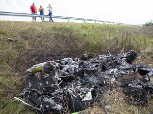 Premier accident en Lamborghini Huracàn - la voiture littéralement pulvérisée en images