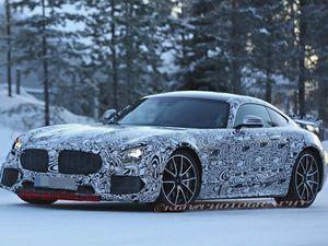 Mercedes AMG-GT R: bestiale