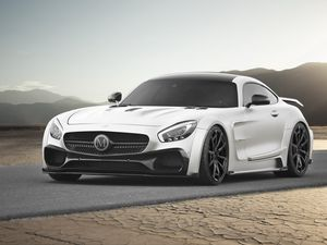 Mercedes AMG GT Mansory: ultra puissante