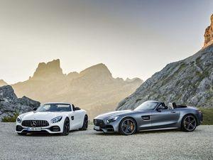 L'AMG GT tombe le haut pour le Mondial de l'automobile de Paris