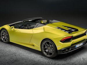 Lamborghini Huracán LP580-2 Spyder: le roadster deux roues motrices
