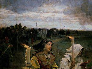 Doña Juana la Loca de Francisco Pradilla (1877): culminación de la pintura histórica romántica