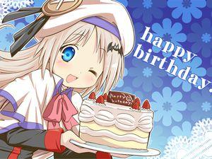 Happy Birthay ! 1 an déjà...:3