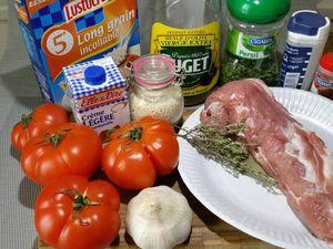 1 - Préchauffer le four th 5/6. Préparer votre filet mignon en ôtant un peu le gras. Le couper en tranches moyennes. Saler et poivrer.