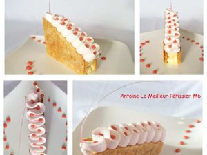 Millefeuille Rose - Fraise
