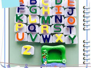 J apprends les lettres