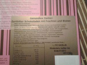 Bachhalm Schokolade Genussbox im Test