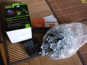 InnooTech 50er LED Solar Lichterkette im Test...