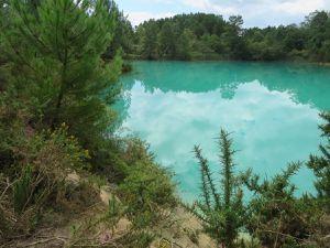 Les lacs bleus