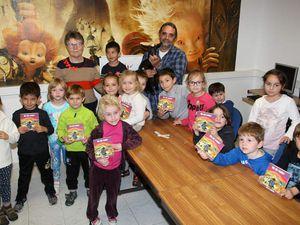Les enfants de l'association Familiale du Fium'Altu à Cervioni
