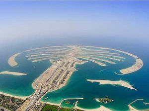 Palm Islands et The world