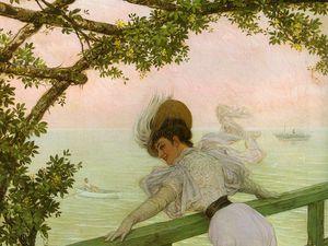 Au balcon - Kaiser Karl enfant - La lectrice - Portrait d'un homme