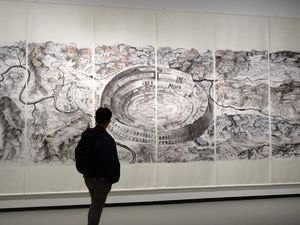 Art contemporain chinois -Fondation Vuitton - mars 2016
