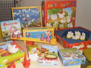des poules et des œufs : 50 participants (enfants et parents) pour jouer ensemble !