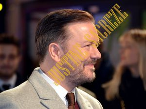 Ricky Gervais, tout sourire !