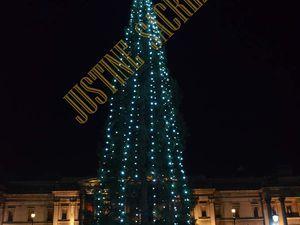 Le Sapin et la Crèche de Trafalgar Square !