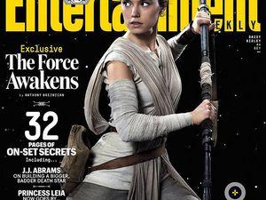Han Solo, R2D2 et C-3PO, Rey et Finn en couverture !