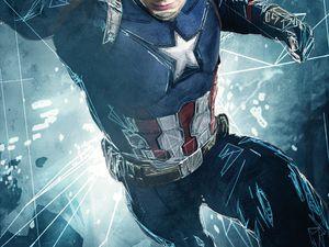 """Iron Man : """"On est sur la défensive, Cap ?""""  Captain : """"J'ai eu une journée difficile."""""""