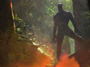 Des premiers Concepts Art de l'univers de Black Panther révélés à travers les bonus de Doctor Strange ! (Images trouvées sur comicbookmovie.com)