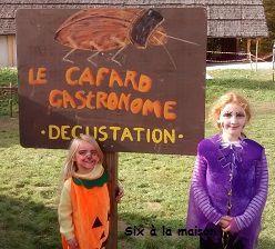 On a fêté Halloween au Dino Zoo