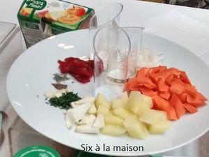Atelier Blédina efluent4 Mijoté de carottes et Boeuf