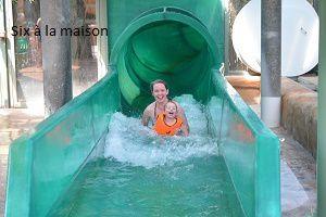 Aqua Mundo , toboggans piscine du Center Parcs Lac d'Aillette