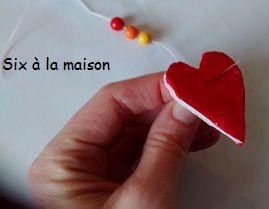 DIY Suspension de coeurs : l'idée déco plein de LOVE