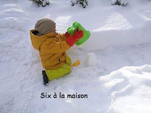 Les enfants et la neige