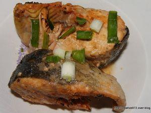 saumon grillé sauce aigre douce