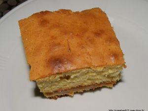 gâteau aux pommes, caramel beurre salé