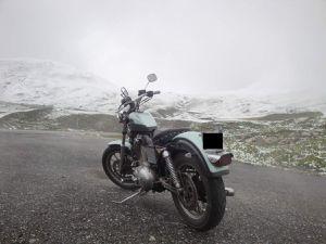 En harley Davidson à PUNTA BAGNA à Valloire du 17 au 19 juin 2016 ( 573 kms au total ) : retour le dimanche