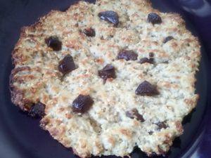 Cookie express geant au chocolat façon bowlcake 4sp