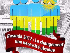 Montréal 21 mai 2016 : Amahoriwacu 2017, Campagne pour le Changement, la Démocratie et la Paix au Rwanda et dans la région des Grands Lacs