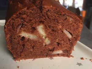Cake banane chocolat sans beurre