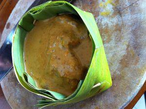 Amok de poulet cambodgien